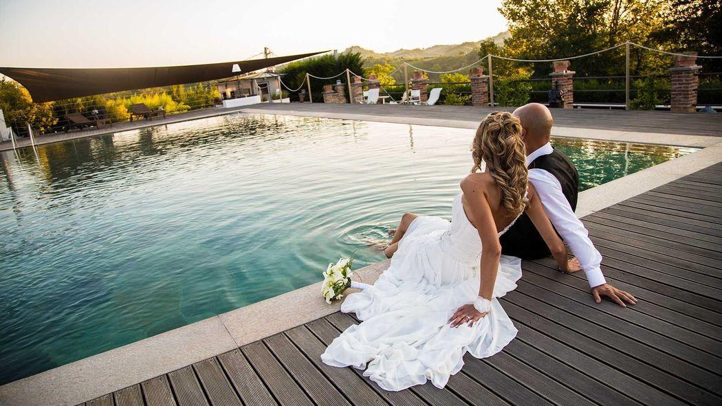 La Madernassa Resort - matrimonio a bordo piscina