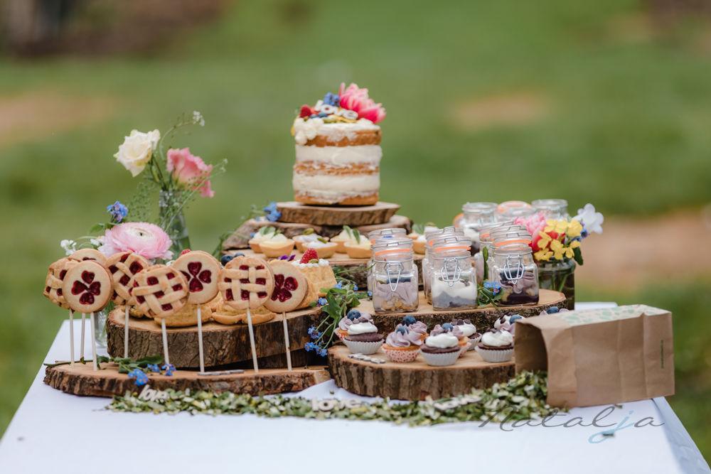 Rustiek sweet table