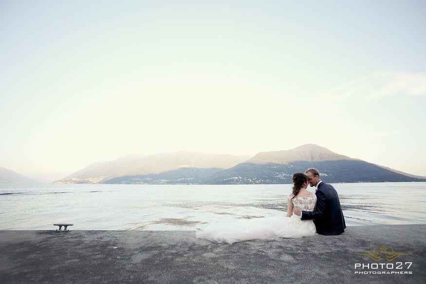 Matrimonio in Svizzera, lago Maggiore