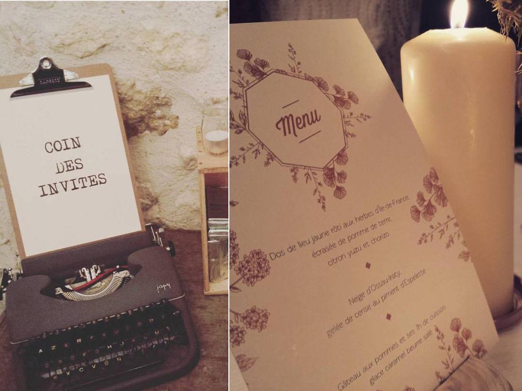 Mariage hivernal bohème chic en région Parisienne - La Fabrique des Instants