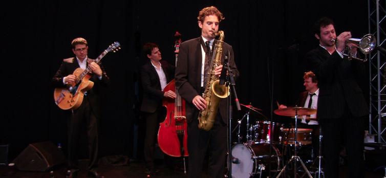 groupe soirées, jazz, paris, ile de France. Groupe musical. orchestre jazz animation soirée.