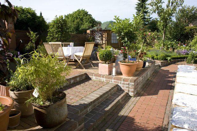 Beispiel: Der Garten, Foto: Kleines Gesellschaftshaus.