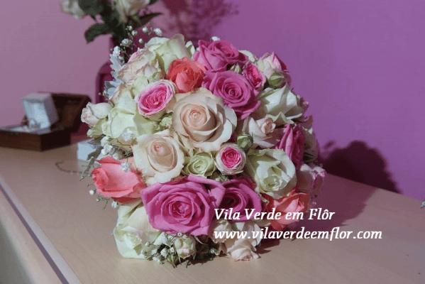 Ramo noiva rosas
