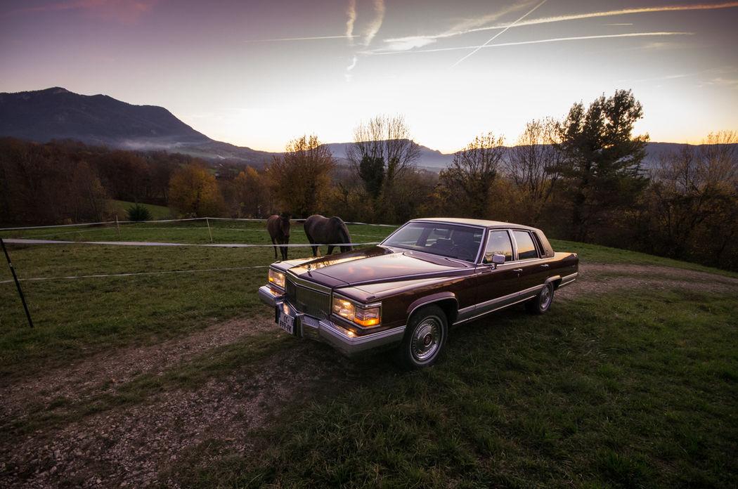 Cadillac Brougham d'elegance de 1990 5m60 - AVEC chauffeur uniquement