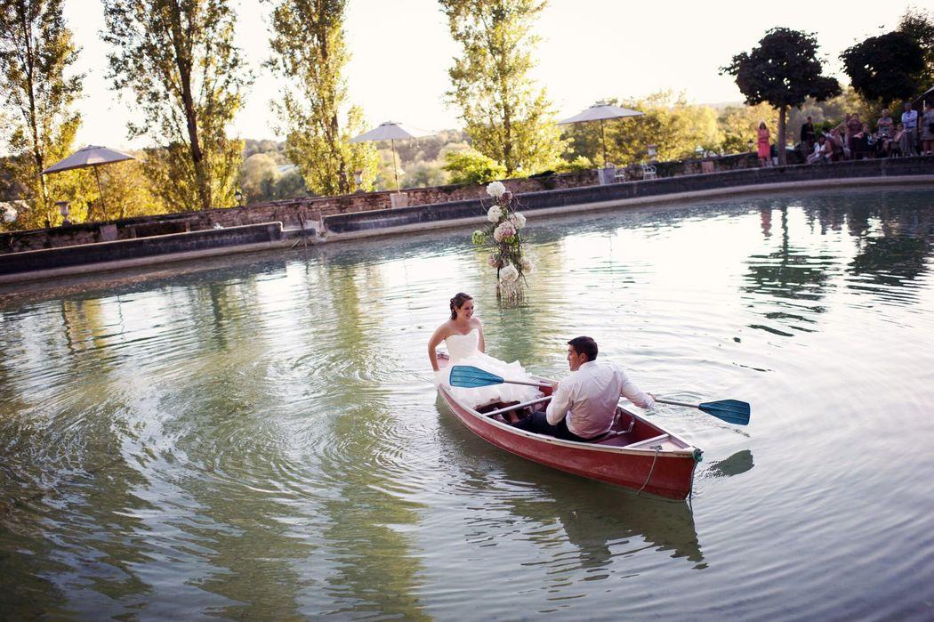 ballade en amoureux sur le bassin roamantique