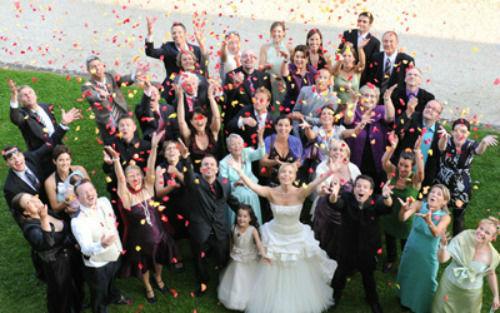 Beispiel: Hochzeitsfeier, Foto: Wasserschloss Wyher.