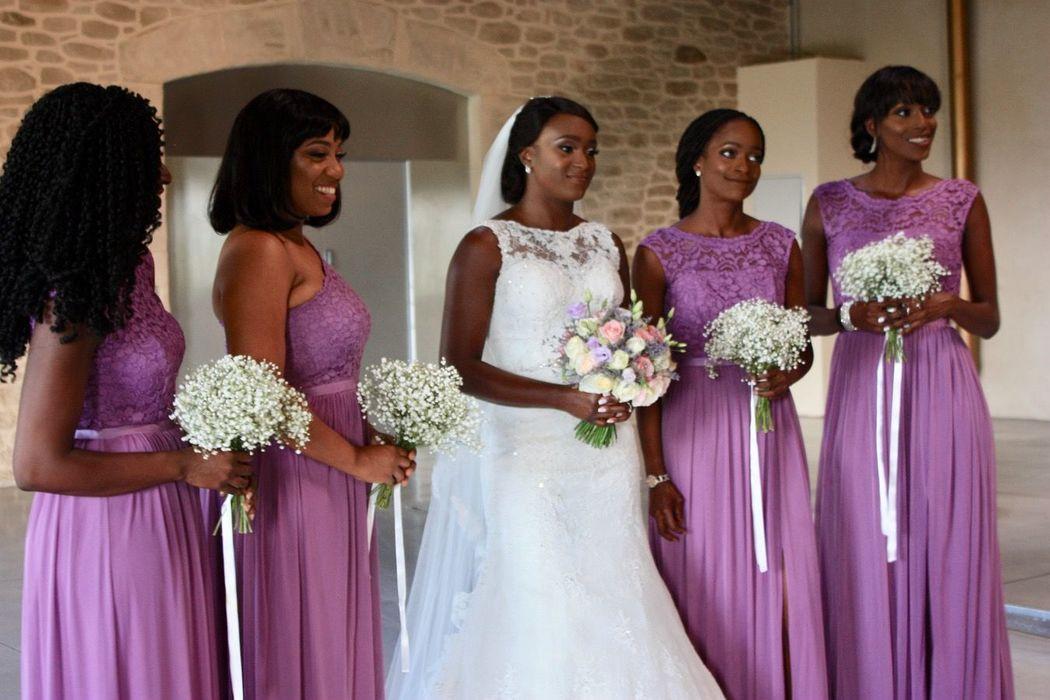 floral mariée