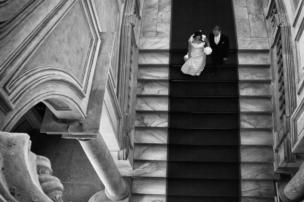 sposi a palazzo madama Fotografo matrimonio torino