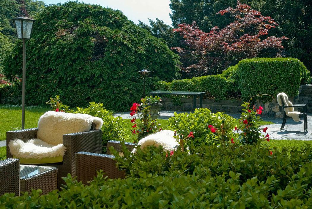 Beispiel: Terrasse/ Garten, Foto: Hotel Schloss Ragaz.