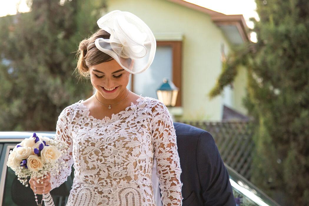 Llegada novia - Ceremonia religiosa
