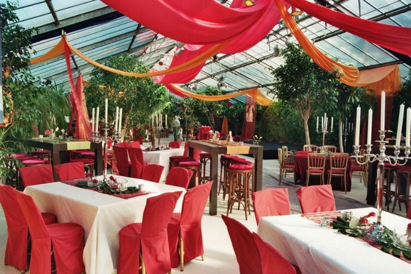 Beispiel: Räumlichkeiten für Ihre Hochzeitsfeier, Foto: Botanikum.