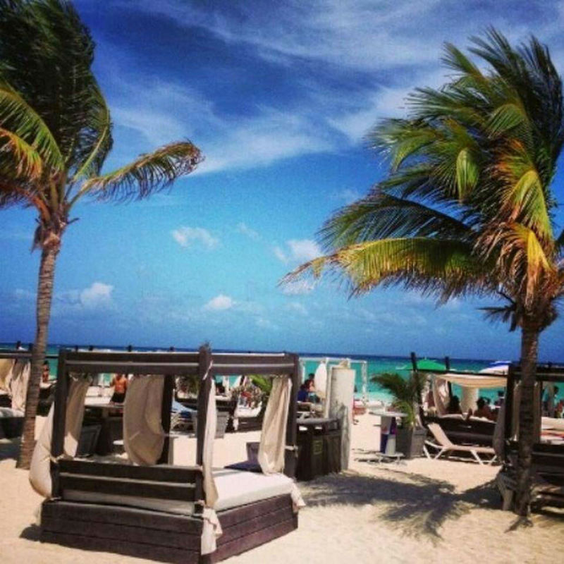 Mamitas Beach Club en Playa del Carmen