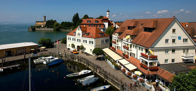 Beispiel: Luftaufnahme, Foto: AKZENT Hotel Löwen.
