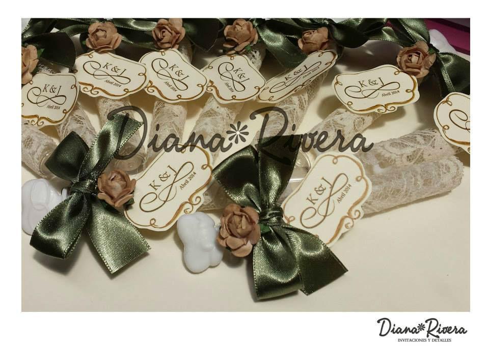 Diana Rivera, invitaciones para boda, ubicada en Toluca