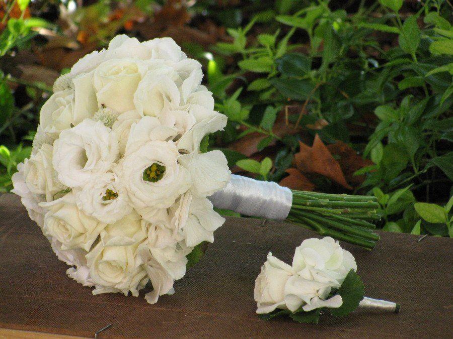 Bouquet de Noiva Branco Romântico