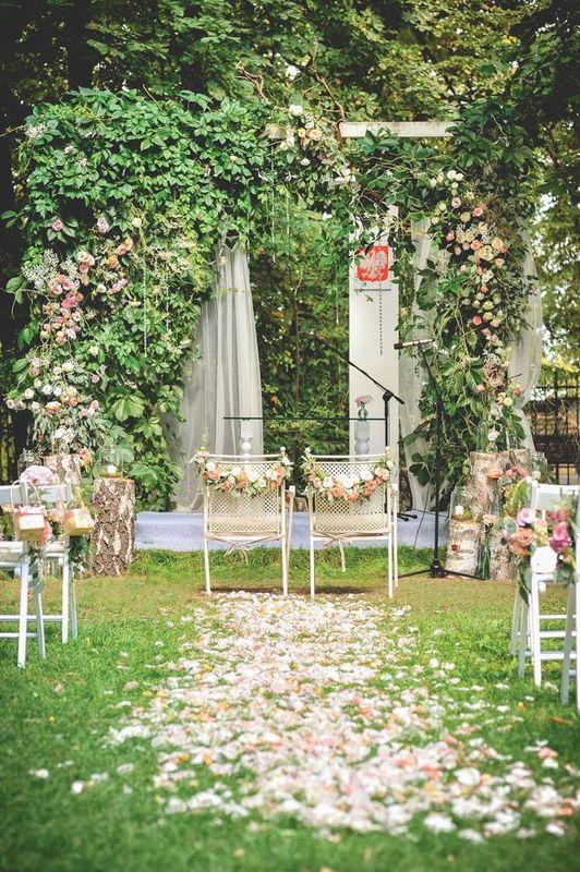 Realizacja - Ślub w plenerze