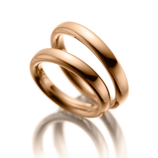 Beispiel: Die Ringe fürs Leben, Foto: Acredo Trauringe.