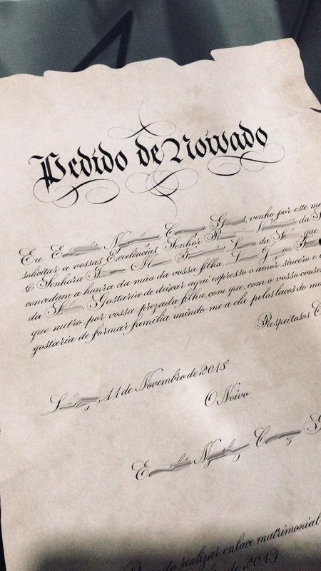 Telmo Nunes Caligrafia