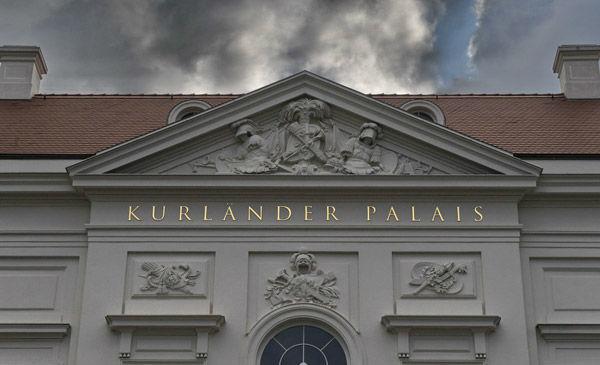 Beispiel: Außenansicht, Foto: Kurländer Palais.