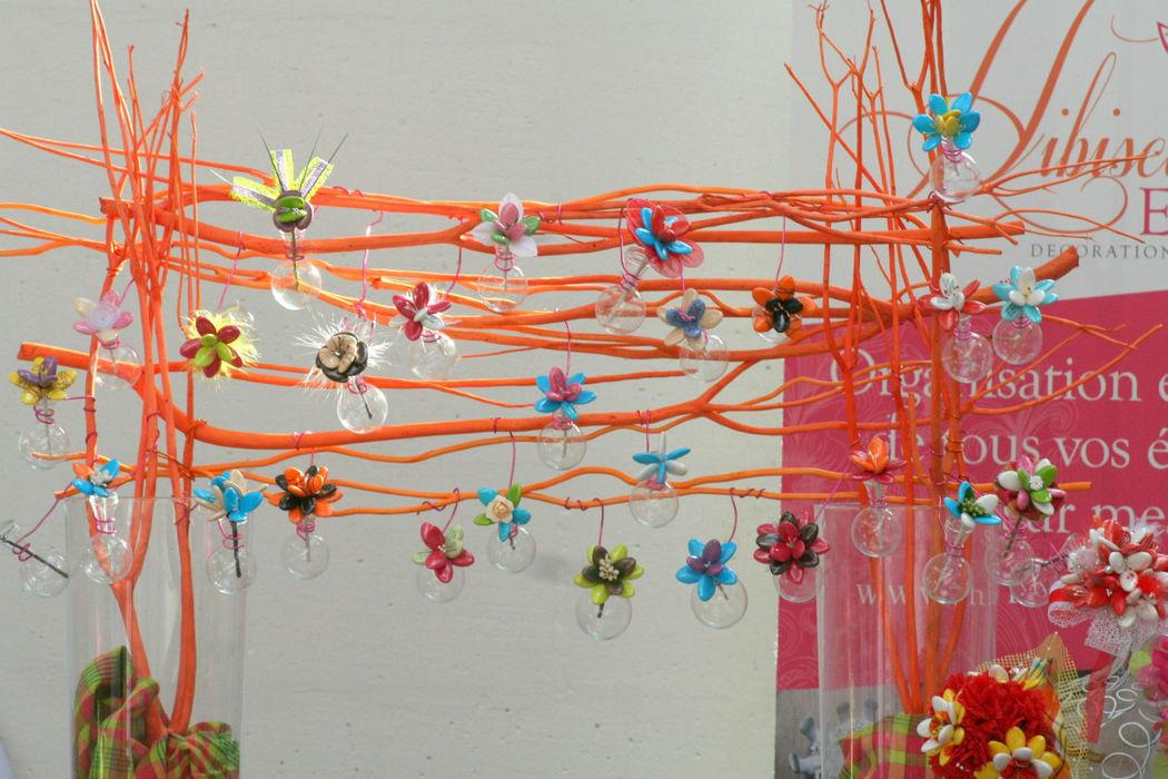 Dragées Fleuries Idée présentation