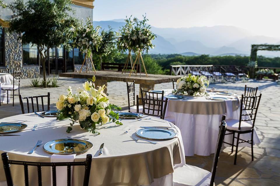 Terraza de la hacienda, banquete