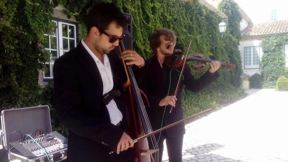 Violinistas para Musica Ambiente e ou Cocktail