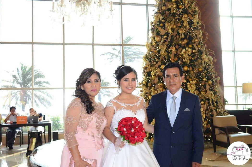 BDL Clienta - Maritza Peña (mamá de la novia)