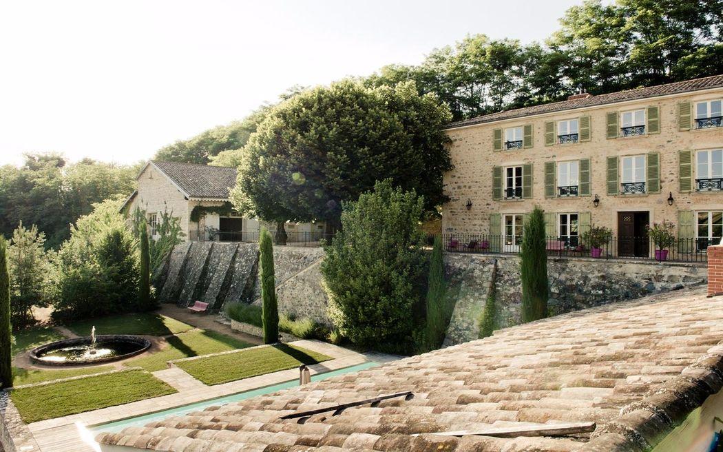 Domaine de Vavril - Les terrasses