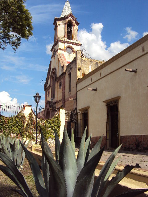 Fachada principal de la Hacienda Calichar