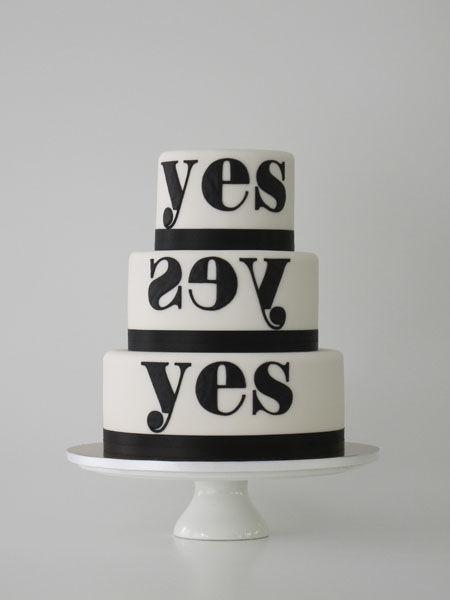 Beispiel: Hochzeitstorte Kollektion Yes, Foto: Madame Miammiam.