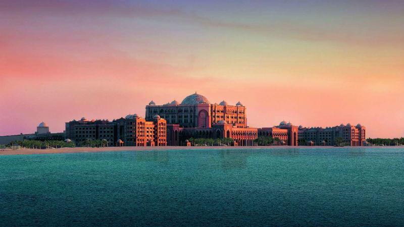 Beispiel: Emirates Palace, Foto: Kempinski Hotels.