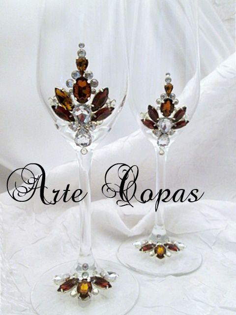 Arte Copas Especial Novios