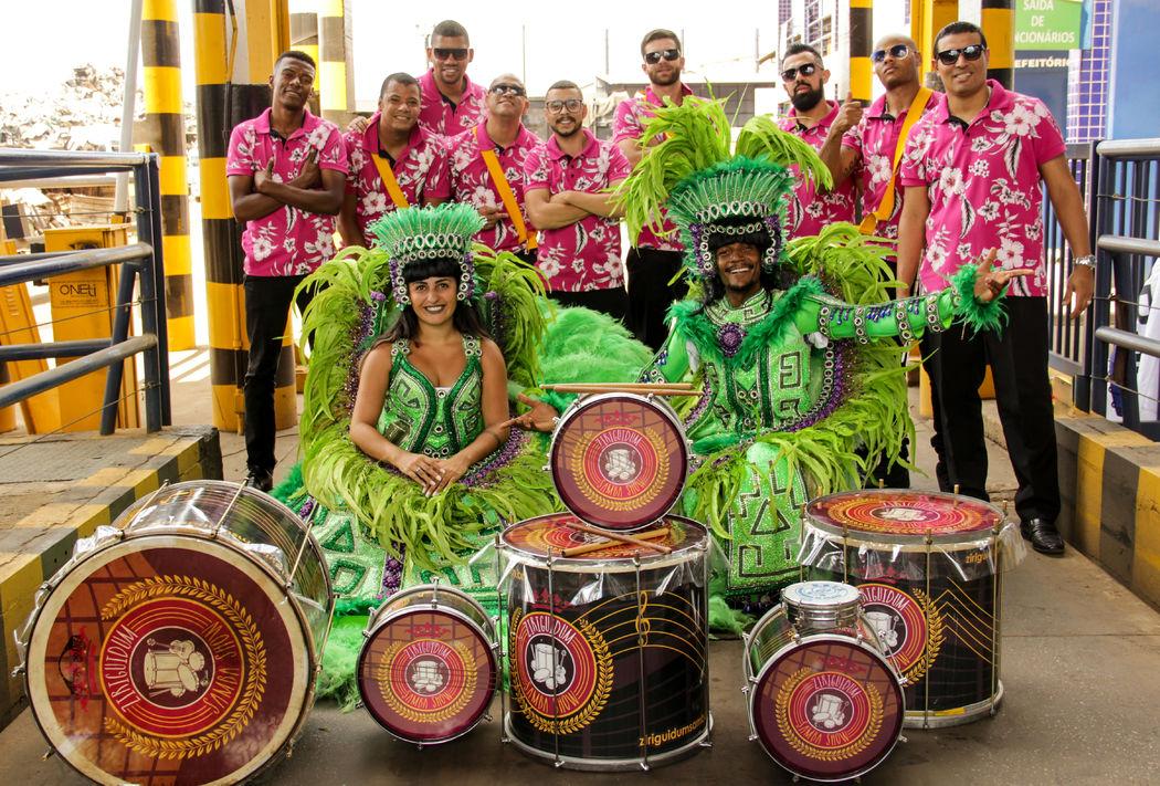 ZIRIGUIDUM SAMBA SHOW - a sua Bateria de Escola de Samba