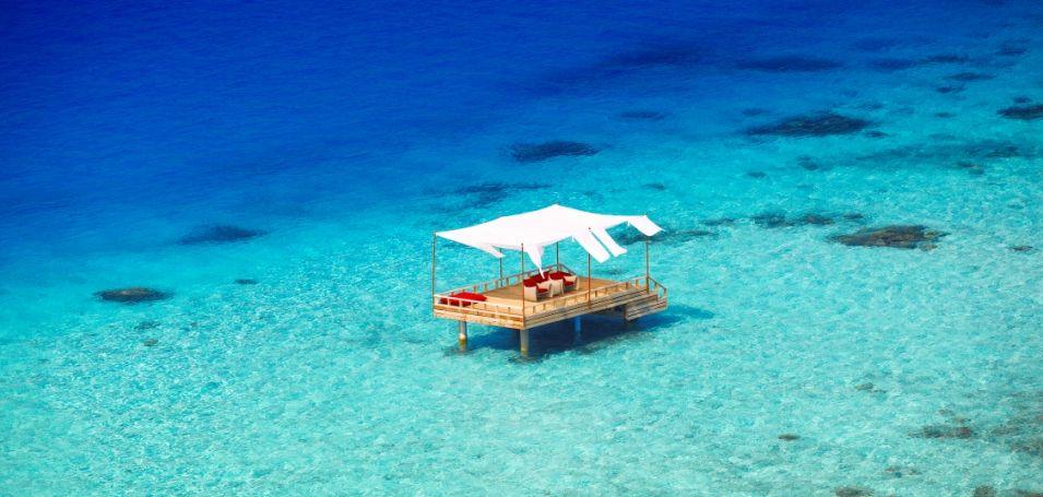 Honeymoon im Paradies, Malediven - Baros