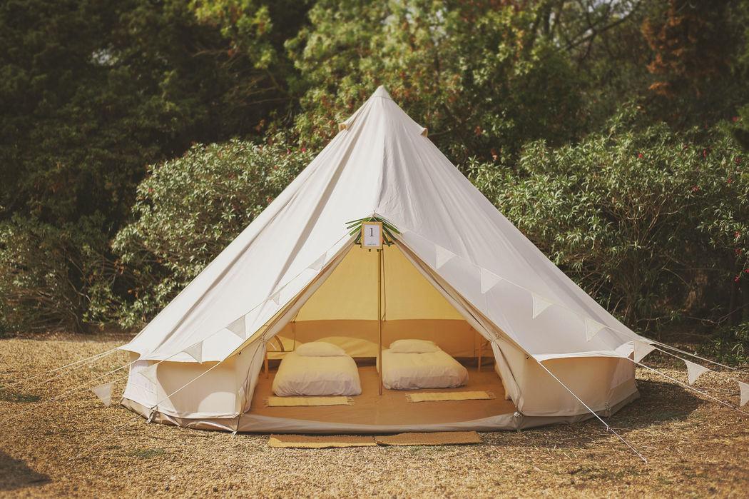 Tente Confort Invités Crédits photo : Fanny Combes