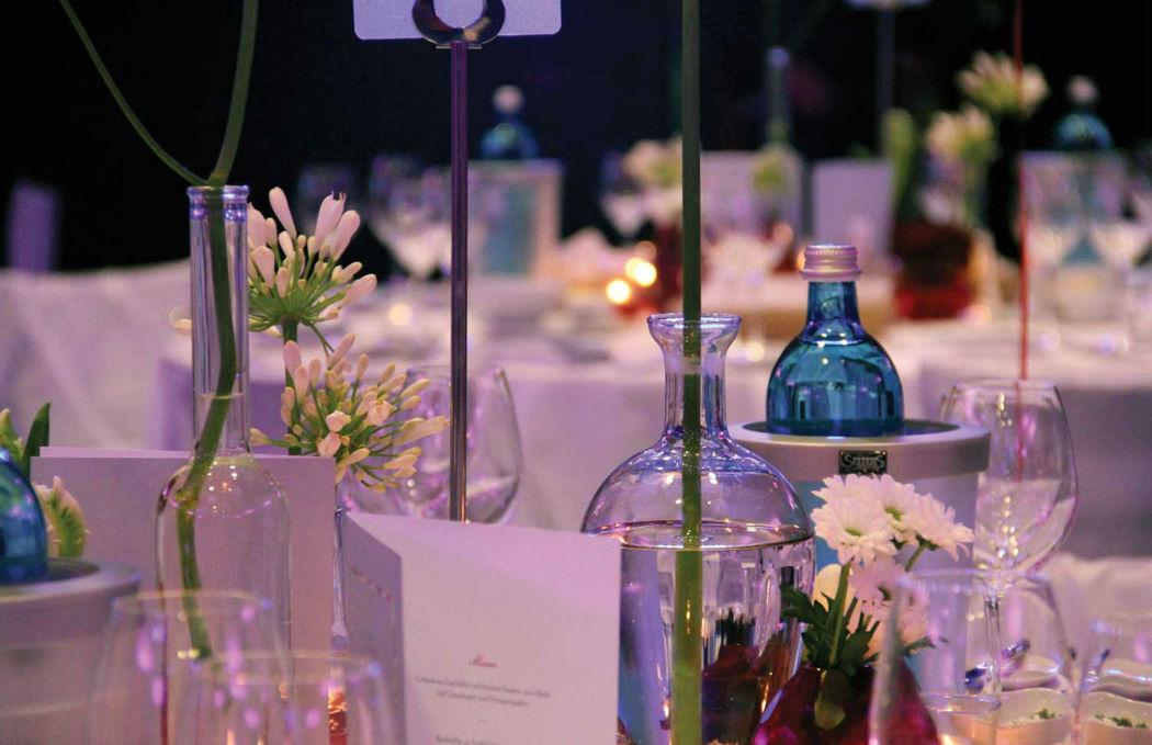 Beispiel: Tischdekoration, Foto: Eltzhof - das Kulturgut.