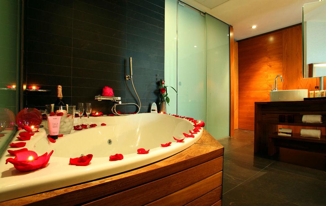 En vuestra habitación os esperará una decoración romántica que no olvidaréis