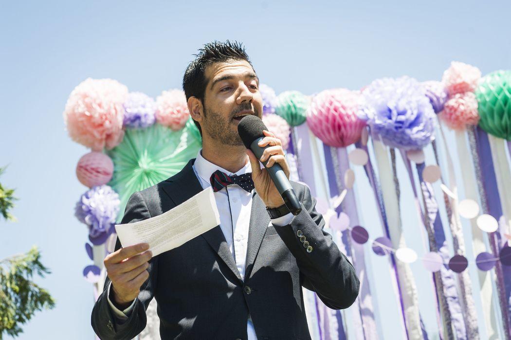 Maestro de Ceremonias - Carlos Barrio