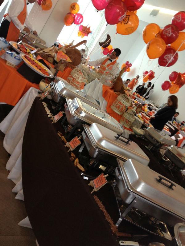 Bufette Desayuno Bar Mitzvah