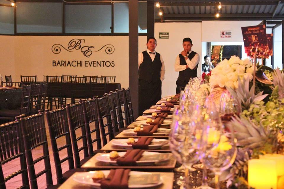 Salón de eventos Bariachi