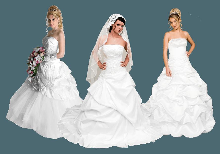 Beispiel: Wunderschöne Brautkleider, Foto: s'Bruthüsli.