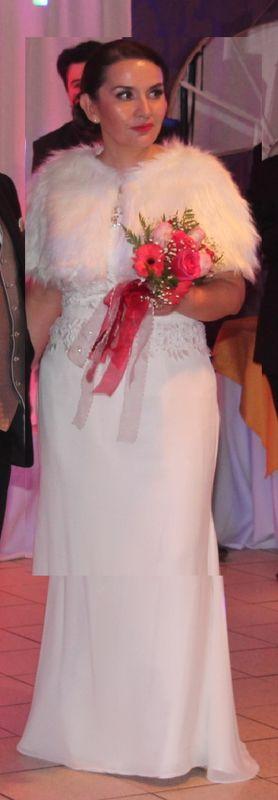 novia en su matrimonio