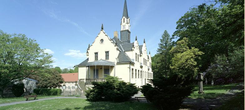 Beispiel: Das Schloss, Foto: Schloss Burgk.