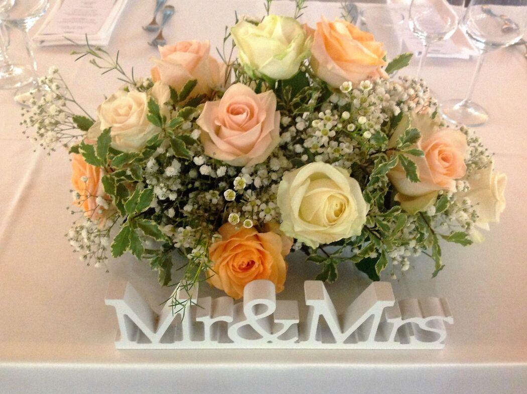 Evento Ideale: Decoro tavolo sposi