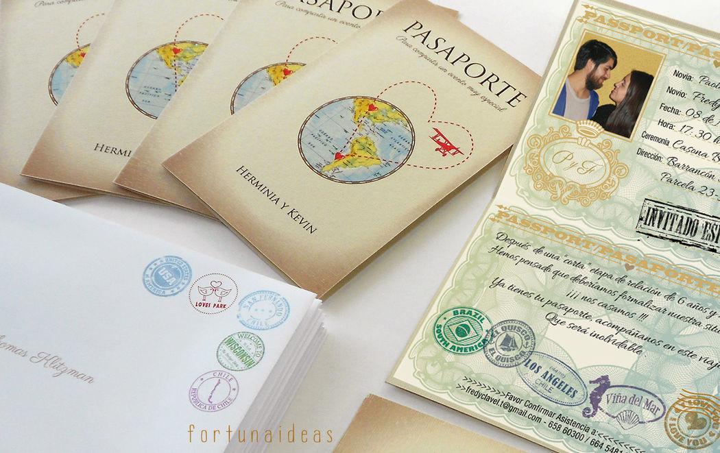 Pasaportes Boda