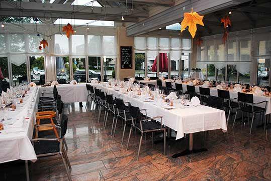 Beispiel: Wintergarten, Foto: Restaurant Schäfli.