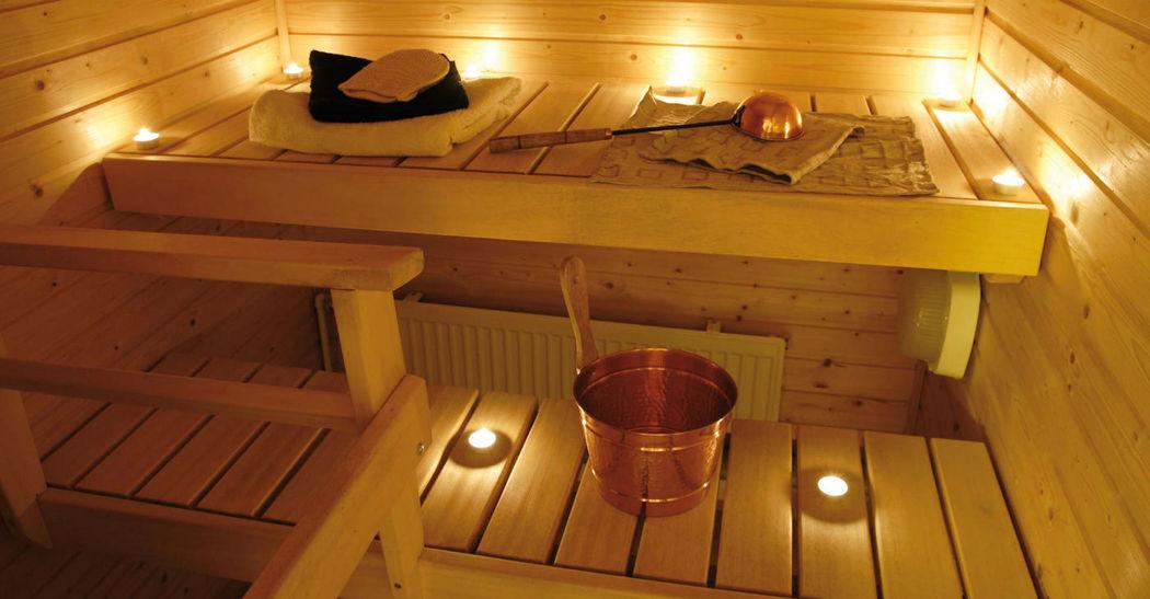 Beispiel: Wellness im Hotel, Foto: Restaurant Landgasthof Bogner.