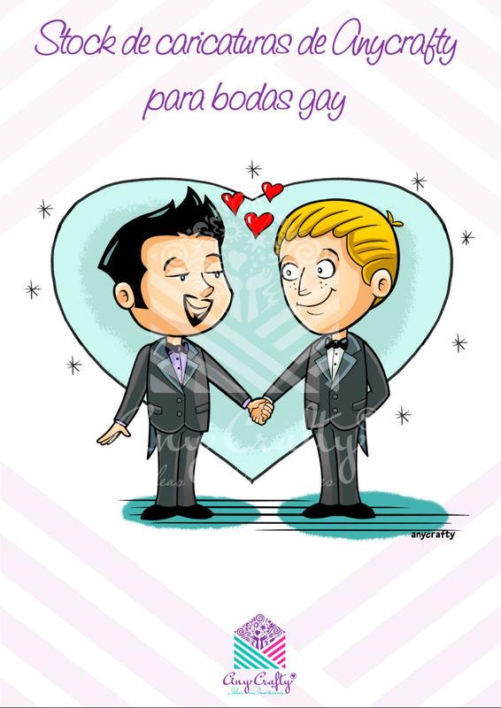 Invitaciones para Bodas Gay