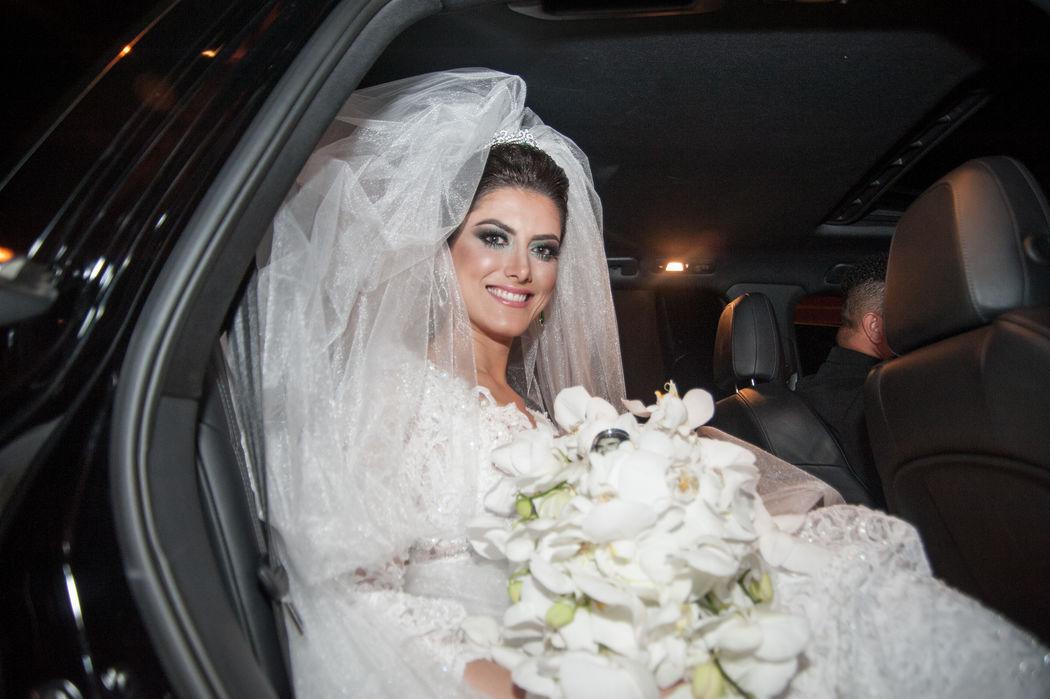 A chegada da nossa noiva