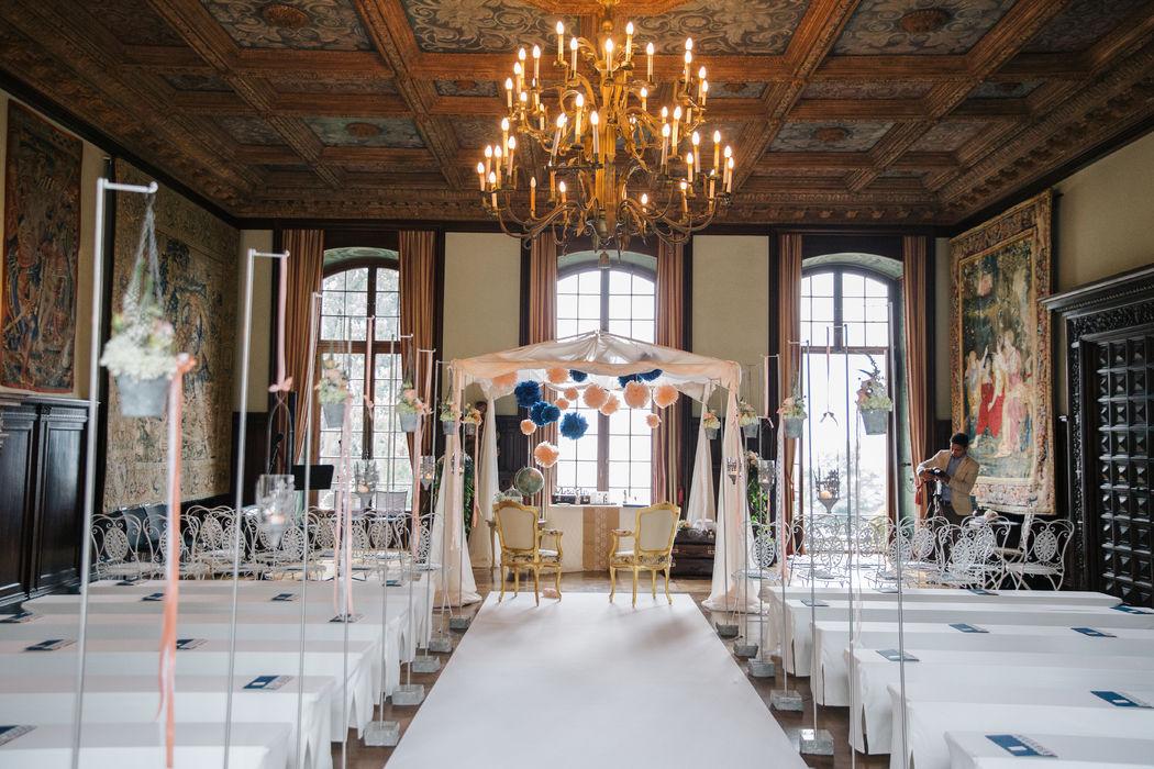 Pavillon: sorbet/blue